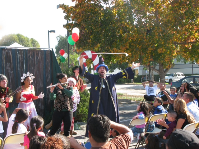 Wizo the Wizard Wows the Crowd!